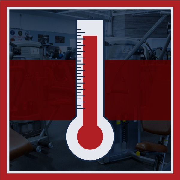 Icon displaying thermometer