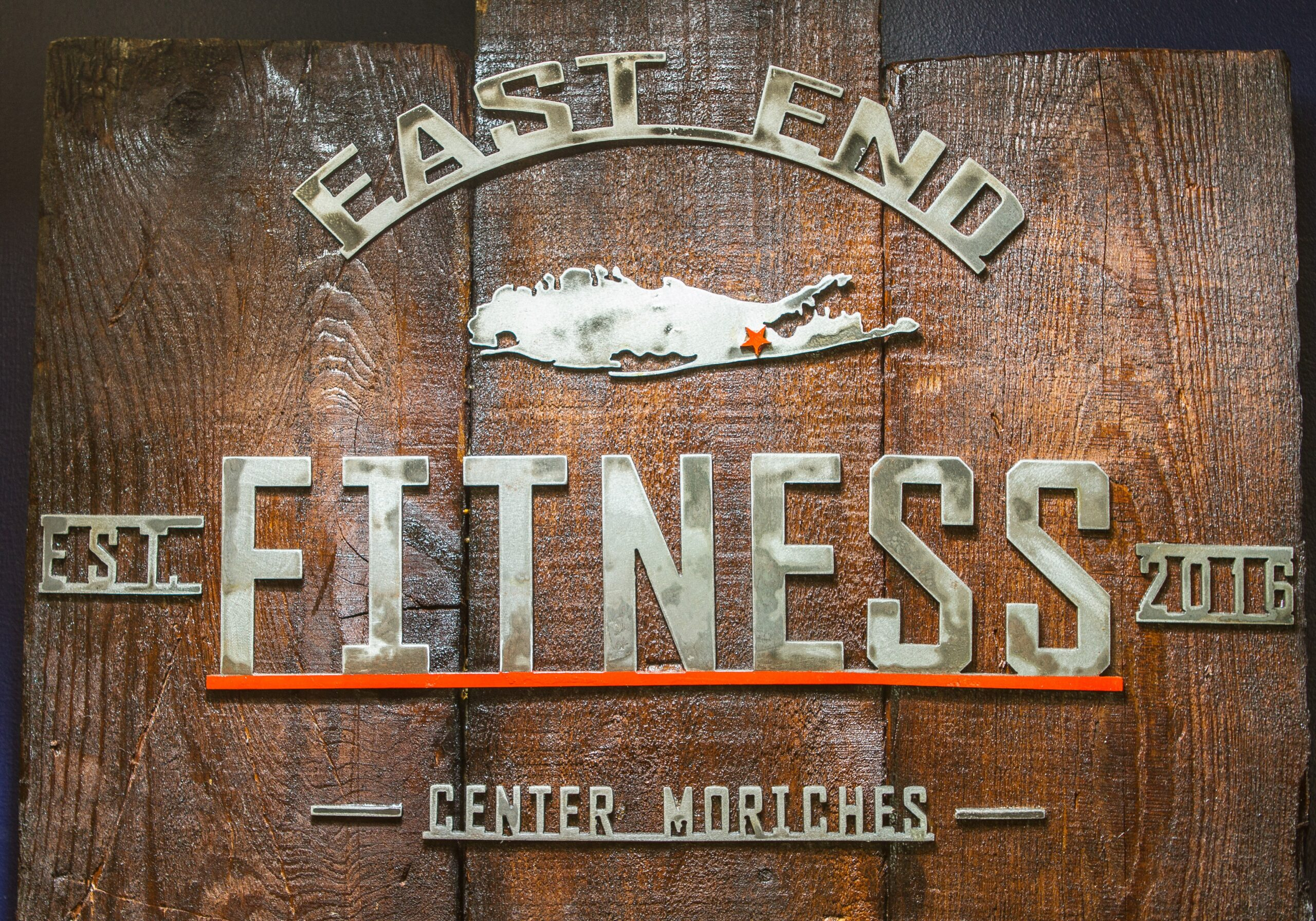 Photo of East End Fitness sign